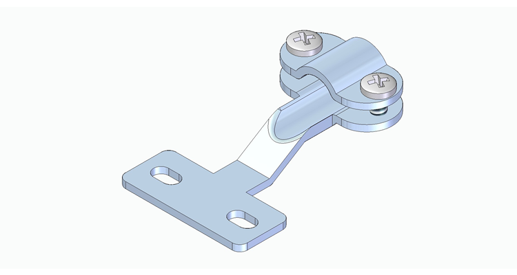 04.04.01-Standard-Connector-Wire-Clamp-Bracket-Standard-Thermocouple Connector-Accessories